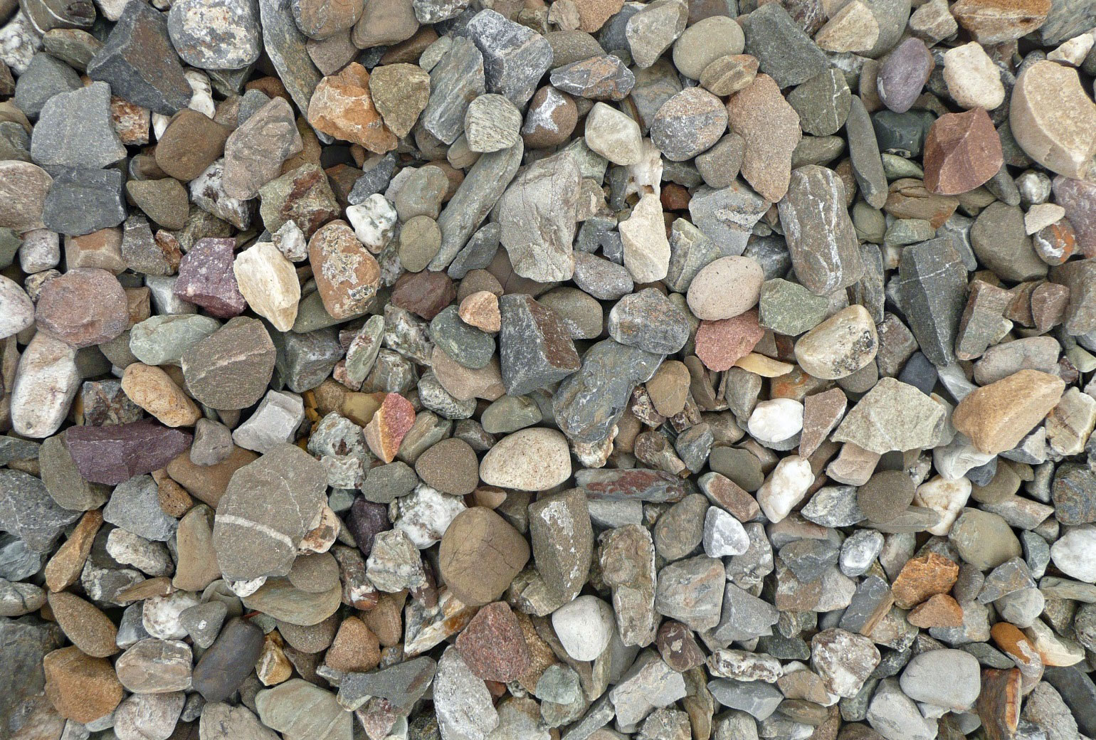 3/4 Native Washed Gravel