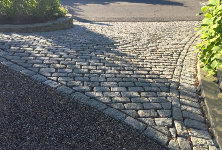 Belgium Block Driveway Edging